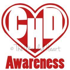 Vinyl CHD Awareness Car Window Decal by TheMendedHeart on Etsy