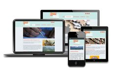 We have just finished a new responsive Dutch website. Create a personalized biography with 3xWoordwaarde
