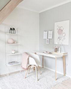Best Desk Decor Design Ideas & Fun Accessoris DIYs for your desk - Brad S Knutson 🏠 Home Design Lover - It is The Time Club Minimalist House Design, Minimalist Home, Bedroom Minimalist, Home Office Design, Home Office Decor, Office Ideas, Office Designs, Office Setup, Office Workspace
