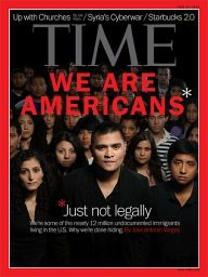 """After reading about one of the characters in H.O.M.S, students will discuss this recent """"undocumented immigrants"""" article in order to give insight to the book."""