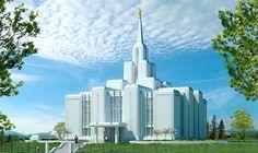 Calgary Alberta Temple of The Church of Jesus Christ of Latter-day Saints. #LDS #Mormon