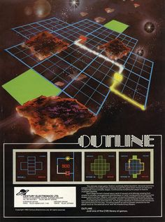 """Outline / Arcade flyer / Century Electronics / 1981"""