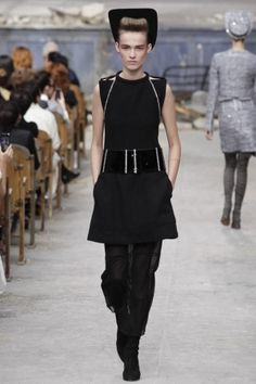 FIERCE Chanel Couture Fall Winter 2013 Paris