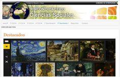 El Rincón didáctico de Ciencias Sociales, ahora más atractivo e intuitivo. #rinconccss