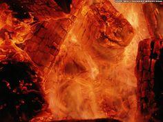 Abstract Fire Wallpaper