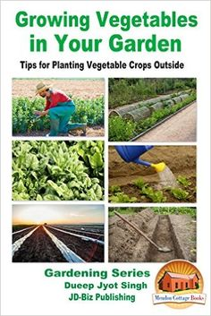 Growing Vegetables in Your Garden - Tips for Planting Vegetable Crops Outside (Gardening Series Book 33) - Kindle edition by Dueep Jyot Singh, John Davidson, Mendon Cottage Books. Crafts, Hobbies & Home Kindle eBooks @ Amazon.com.