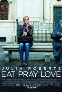 "Eat Pray Love (previously ""The Virtues of Life"") is a 2010 drama film starring Julia Roberts as Elizabeth Gilbert, based on Gilbert's best-selling memoir of the same name. The film was co-written and directed by Ryan Murphy. Elizabeth Gilbert, Liz Gilbert, Eat Pray Love Movie, See Movie, Movie Tv, Movie Theater, James Franco, Love Trailer, Bon Film"