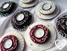 Advent, Sugar Art, Royal Icing, Gingerbread Cookies, Cake Decorating, Deserts, Christmas, Chip Cookies, Ginger Cookies