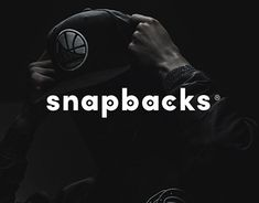 The redesign of the logo for a well-known headwear store Snapbacks.cz in Prague. The minimalist idea of typography linked with a zipper strip on the back of a snapback.