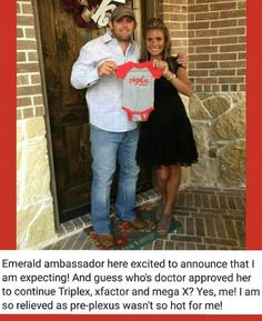Emerald Ambassador's Doctor approved her to continue TriPlex (Slim, BioCleanse & ProBio5) along with xFactor & MegaX while pregnant!