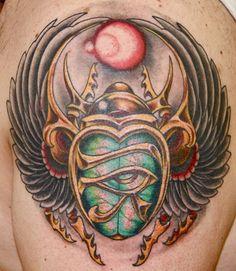 Tatuagem de Escaravelho