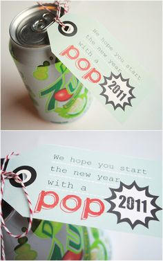 Spunky Junky: {Free Printable} Start the New Year with a POP!