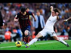 Lionel Messi Humiliating Real Madrid Players HD Goals/Skills/Assists so far | 2014 HD   Like for my page:  ✔ https://www.facebook.com/pages/Football-Videos-HD/541619429224901?ref=hl  ✔ Video by: FibraFootballVideos                    2014 Productions ®     COPYRIGHT LAWS AND PROPOSALS: Act of 4 February 1994 on Copyright and Related Rights This video is fair use under U.S. copyright law because it is noncommercial and transformative in nature, uses no more of the original than necessary, and…