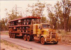 SAR 1   Flickr - Photo Sharing! Semi Trucks, Old Trucks, Old Bangers, Road Train, Cab Over, Kenworth Trucks, Classic Trucks, Diesel Engine, Tractors