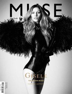 Muse Magazine - Muse Magazine S/S 11 Eight Covers / photographer: Daniele Duella and Iango Henzi / Luigi Murenu - Art Director / hair stylist: Luigi Murenu / model: Gisele Bundchen