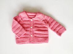 Sweater de niña tejido a mano. 100 algodón. Color por CasitadeLana, $45.00