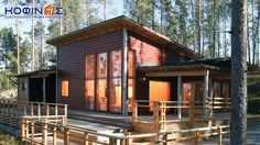 From Finland with love. Shed Plans, House Plans, Modern Bungalow Exterior, Barn Style Shed, Concrete Houses, Wooden Houses, Cheap Sheds, Log Cabin Homes, Log Cabins