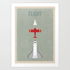 Flight Art Print by The White Deer - $20.80