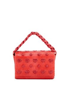 d89fd28364ee Get free shipping on Nancy Gonzalez Small Heart Carrie Clutch Bag at Neiman  Marcus. Shop