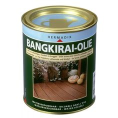Bangkirai olie is verkrijgbaar in 750 ml en 2500 ml verpakking. Garbage Shed, Do It Yourself Projects, Diy Pallet Projects, Coffee Cans, Dog Food Recipes, Backyard, Canning, Pets, Water