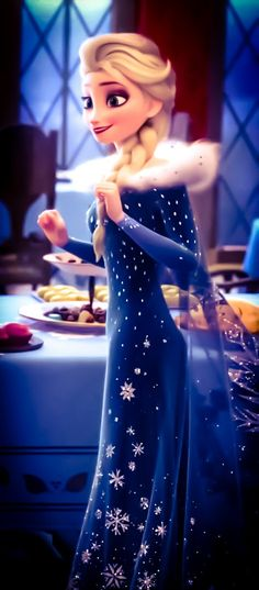 If she has a more beautiful dress than this in Frozen 2, then I'm going to end up with heatstroke - if you know what I mean.