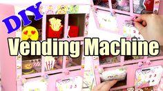 DIY Squishy Vending Machine Tutorial Cardboard Homemade