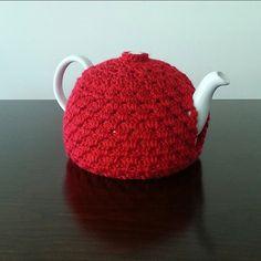 Crochet Tea Pot CozyCustom Colors Available by NandysNook on Etsy
