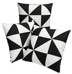 Sierkussen NATTFIOL 45x45 driehoek | JYSK Scandinavian living - Home decoration - Inrichting - Decoratie - | JYSK #JYSK #inrichting #woondecoratie #decoratie #interieur #huis #woonkamer