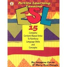 ESL activity book.  Great for elementary/low level English speakers.