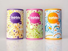 Burble (Student Work) on Packaging of the World - Creative Package Design Gallery