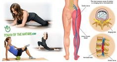 Everyone who has ever suffered from sciatic nerve pain knows it's a real pain in the butt – literally. Also if you're dealing with a flare up, these simple moves can help by targe…
