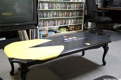 Pac-Man coffee table :D