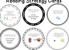 Reading focus cards!  Choose a reading strategy your student(s) need to focus on and put it on a popsicle stick as a reminder of a reading strategy you want your student to work on everyday when they are reading!
