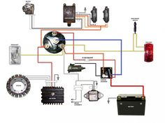 simple motorcycle wiring diagram for choppers and cafe racers \u2013 evan Waffle Maker Wiring Diagram simplified wiring diagram for xs400 cafe projects to try inside motorcycle