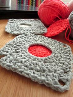Porthole Square Crochet Pattern by Colourinasimplelife on Etsy