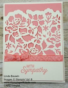 Linda Bauwin CARD-iologist Helping you create cards from the heart. #floralphrases #peakaboopeachsu #lindabauwin