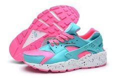 info for 2a285 3f063 2015 Womens Nike Air Huarache Running Shoes BluePinkWhite Nike Air  Huarache Femme