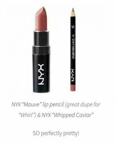 Trendy Makeup Ideas – Smokey Eyes : sally's beauty supply Lipliner in mocha + nyx matte lip cream in Istanbul… Nyx Cosmetics, Dupes Nyx, Lipstick Dupes, Makeup Dupes, Skin Makeup, Elf Dupes, Eyeshadow Dupes, Lipstick Swatches, Make Up