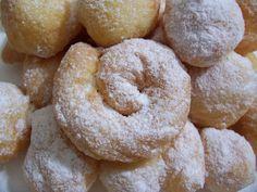 Gogosi pufoase cu iaurt Doughnut, Desserts, Food, Tailgate Desserts, Deserts, Essen, Postres, Meals, Dessert