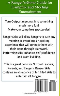 Entertainment for any Ranger around the campfire! Share this to the adventurous in your life, what an idea for a gift.