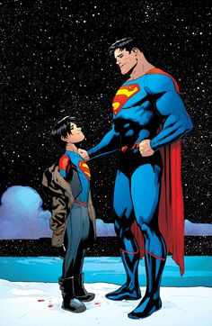 Superman and Superboy by Doug Mahnke