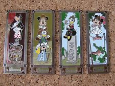 Disney Trading 4 Pin Set The Haunted Mansion Stretch Portraits Daisy Duck 70024