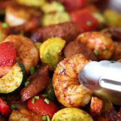 Air Fryer Recipes Shrimp, Air Fryer Oven Recipes, Air Frier Recipes, Air Fryer Dinner Recipes, Healthy Dinner Recipes, Easy Recipes, Ninja Recipes, Shrimp Dinner Recipes, Air Fryer Recipes Videos
