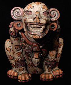 Pre-Columbian jaguar en barro