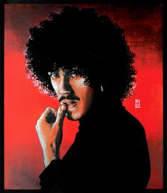 Portrait Thumb to mouth. Philip asked me to produce a set of portraits for the band members; Philip, Brian, Scott, and Sn Jim Fitzpatrick, Thin Lizzy, Heavy Rock, Irish Art, Live Band, Rock Legends, Great Bands, Rock Art, Illustrations Posters