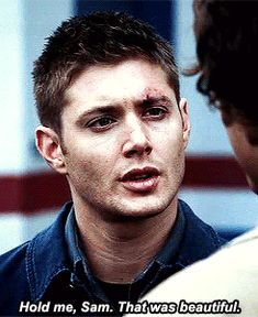 1x11 Scarecrow - This is one of my favourite quotes! And look, baby Dean! :3