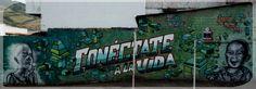 Conéctate / Skol - Muur - Jota Oner / Graffiti