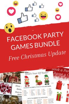 Grab these FREE tiles for your Facebook parties around Christmas. Get more interaction and have some FUN! #directsales #directselling #partyplanconsultant Direct Sales Games, Direct Sales Party, Body Shop At Home, The Body Shop, Whats Your Elf Name, Goal Setting Worksheet, Facebook Party, How To Use Facebook, Thirty One Gifts