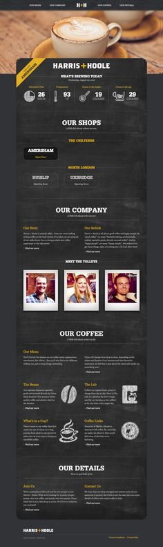 Harris + Hoole - Company Website