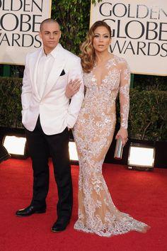 Jennifer Lopez y Casper Smart Golden Globe Award, Golden Globes, Celebrity Gossip, Celebrity Photos, Jennifer Lopez Images, The Emmys, American Music Awards, Red Carpet Dresses, Cannes Film Festival